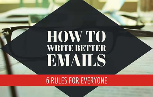 6 ways to write better emails